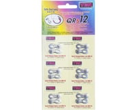 YBN QRS Reusable Chain Links (Silver) (12 Speed) (6)