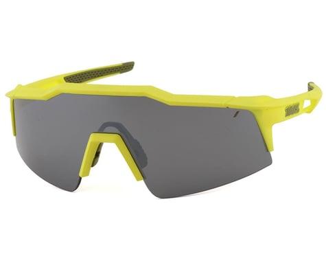 100% SpeedCraft SL Sunglasses (Soft Tact Banana) (Black Mirror Lens)