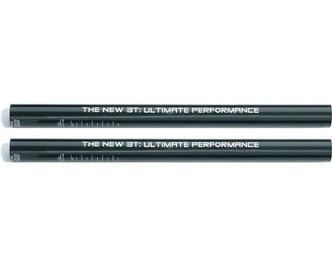 3T Aerobar Carbon Extensions (Black) (Straight) (22.2mm)