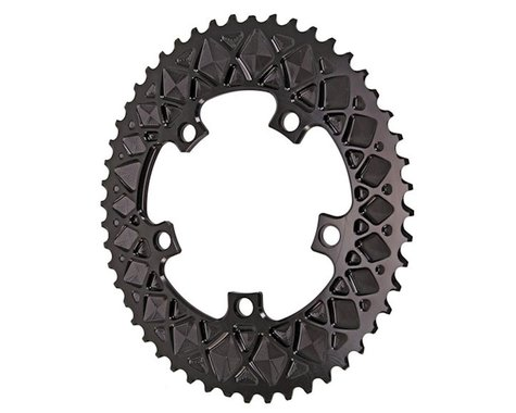 Absolute Black Premium 2x Oval Chainring (Black) (110mm BCD) (Offset N/A) (50T)