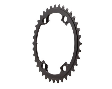 Absolute Black Round Chainring (Black) (110mm Asym BCD) (Offset N/A) (36T)