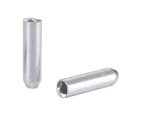 Alligator Derailleur Cable End Crimps (Silver) (500) (1.9mm)