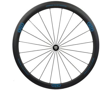 Alto Wheels CT40 Carbon Front Road Tubular Wheel (Blue)