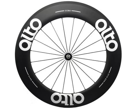 Alto Wheels CT86 Carbon Front Road Tubular Wheel (White)
