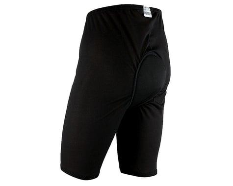 Andiamo Men's Padded Skins Short Liner (Black) (S)