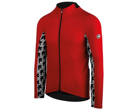 Assos MILLE GT Spring/Fall Long Sleeve Jersey (National Red) (M)