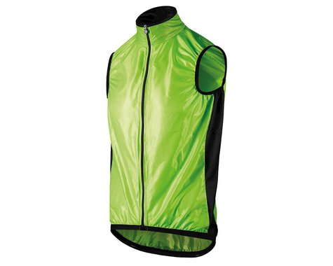 Assos Men's Mille GT Wind Vest (Visibility Green) (S)