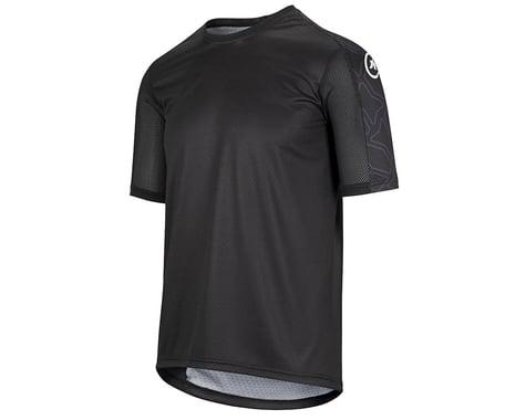 Assos Men's Trail Short Sleeve Jersey (Black Series) (S)