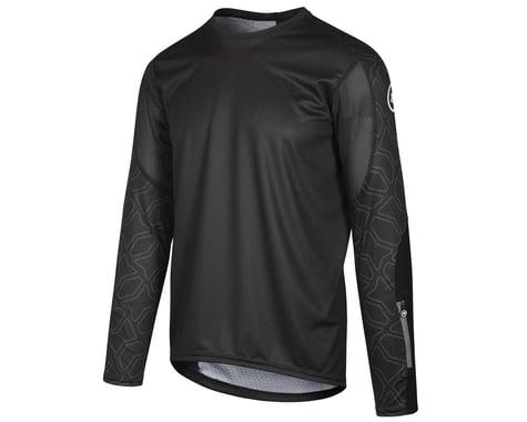 Assos Men's Trail Long Sleeve Jersey (Black Series) (M)