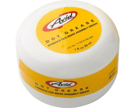 AVID Grease SRAM DOT Assembly Grease 1oz - Recommended for LeverPistons, Hose Compression Nuts, Threaded Barbs & Olives