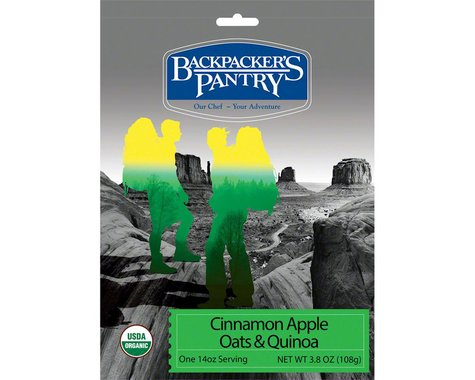 Backpacker's Pantry Organic Cinnamon Apple Oats and Quinoa (1 Serving)