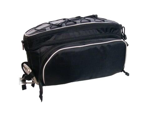 Banjo Brothers Rack Top Pannier Bag (Black)