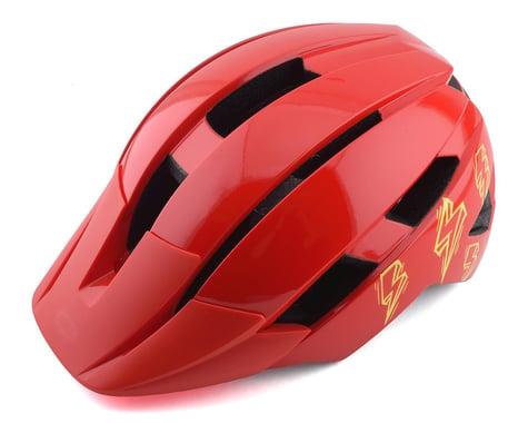Bell Sidetrack II Kids Helmet (Red Bolts) (Universal Child)