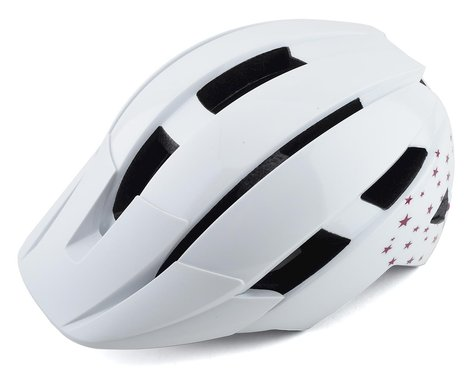 Bell Sidetrack II Kids Helmet (White Stars) (Universal Child)