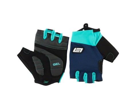 Bellwether Pursuit Gel Short Finger Gloves (Navy) (L)