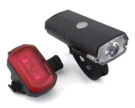 Blackburn Dayblazer 400 Headlight w/ Click USB Tail Light (Black)