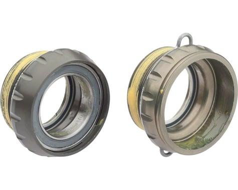 Campagnolo Power-Torque Bottom Bracket Cups (Silver) (Italian)
