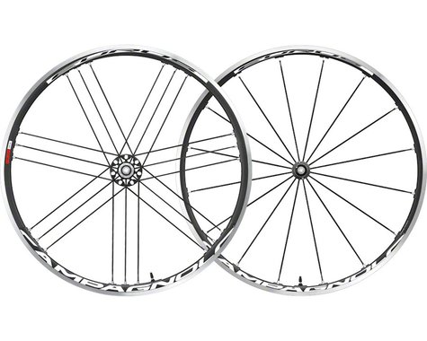 Campagnolo Eurus Wheelset (Black) (700c) (QR x 100/130mm) (Clincher)