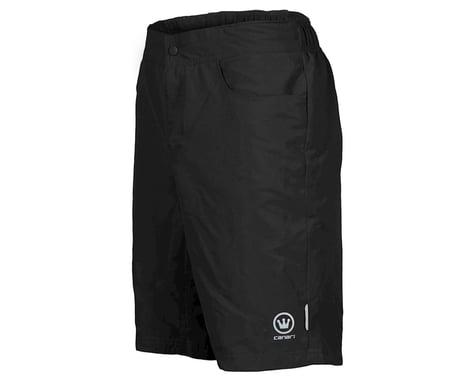 Canari Atlas Gel Baggy Cycling Short (Black)