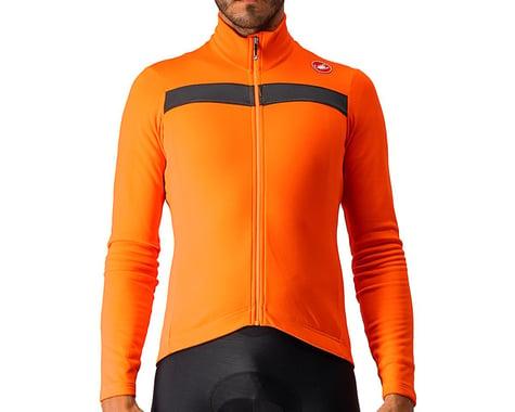 Castelli Puro 3 Long Sleeve Jersey (Orange) (L)