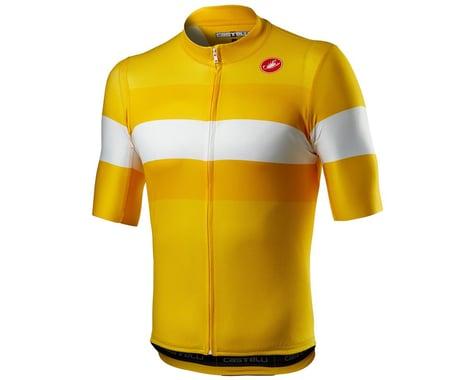 Castelli LaMitica Short Sleeve Jersey (Saffron) (M)