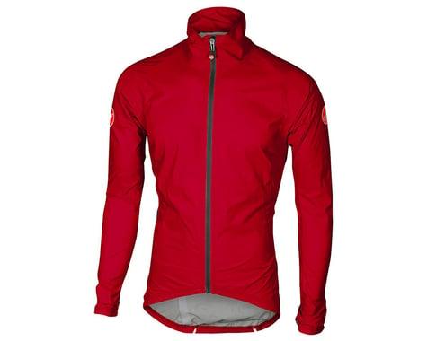 Castelli Emergency Rain Jacket (Red) (M)