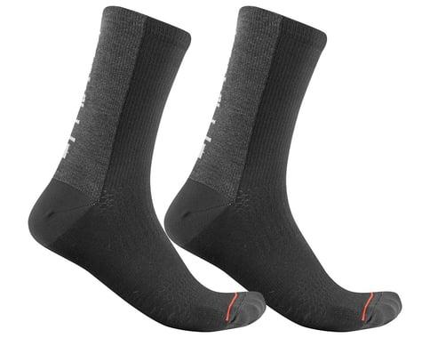 Castelli Men's Bandito Wool 18 Socks (Black)