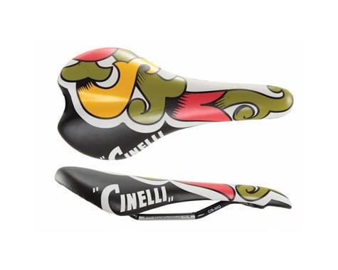 Cinelli Crest Saddle (Araldo) (Chromoly Rails) (147mm)