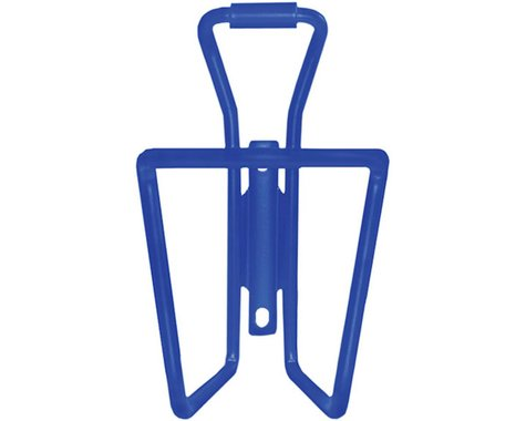 Clean Motion Alloy Water Bottle Cage (Blue)