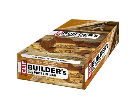 Clif Bar Builder's Bar (Chocolate Peanut Butter) (12) (12 2.4oz Packets)