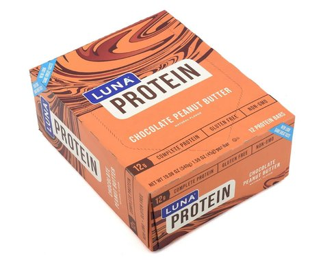 Clif Bar Luna Protein Bar (Chocolate Peanut Butter) (12   1.59oz Packets)