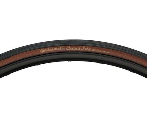 Continental Grand Prix Classic Tire (Black/Brown) (700c) (25mm)