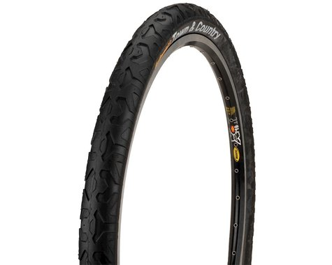 """Continental Town & Country City Tire (Black) (26"""") (1.9"""")"""