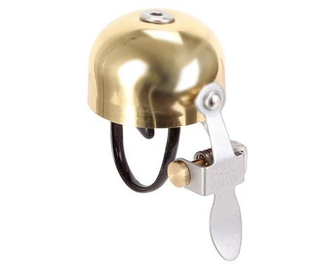 Crane E-Ne Brass Bell (Polished Gold)