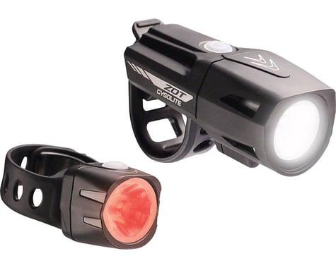 Cygolite Zot 250 Headlight w/ Dice TL 50 Tail Light (Black)