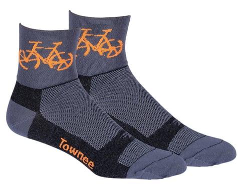 "DeFeet Aireator 3"" Townee Socks (Graphite) (S)"