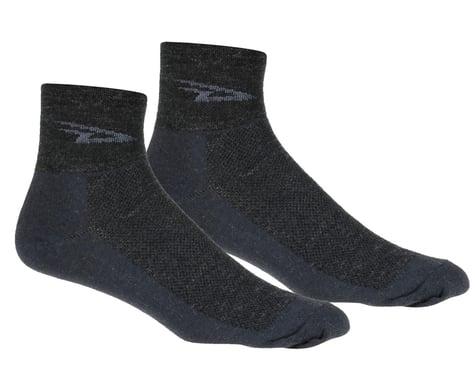 DeFeet Wooleator Sock (Charcoal Grey) (S)