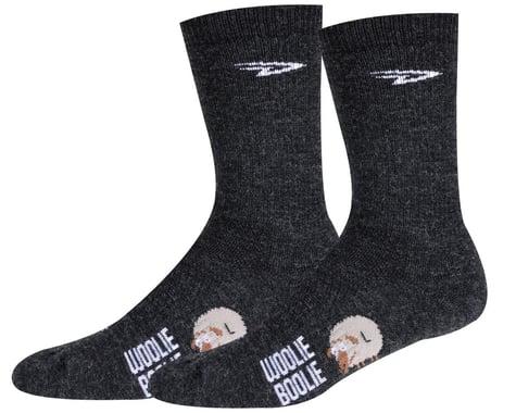 "DeFeet Woolie Boolie 6"" D-Logo Sock (Charcoal) (S)"