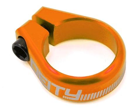 Deity Circuit Seatpost Clamp (Orange) (31.8mm)