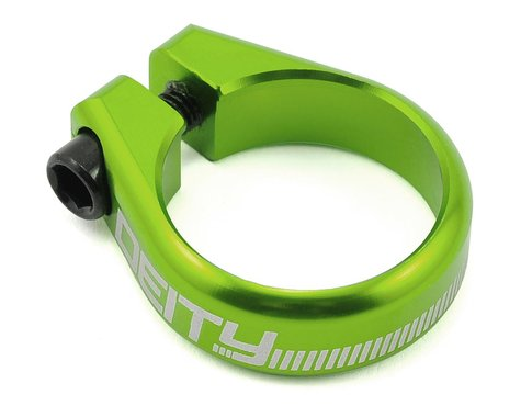 Deity Circuit Seatpost Clamp (Green) (34.9mm)