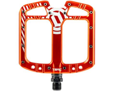 "Deity TMAC Pedals (Orange) (9/16"")"