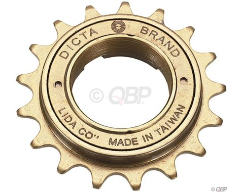"Dicta 3/32"" Freewheel (Gold) (16T)"