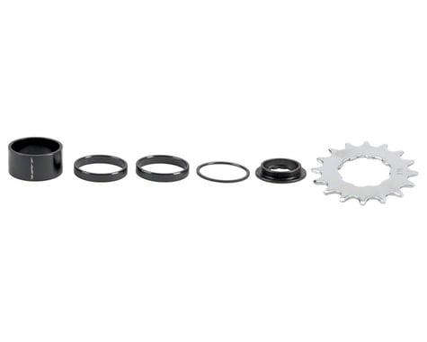 DMR Single Speed Spacer/Conversion Kit (Black) (16T)