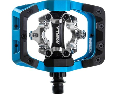 """DMR V-Twin Clipless Pedals (Blue) (9/16"""")"""
