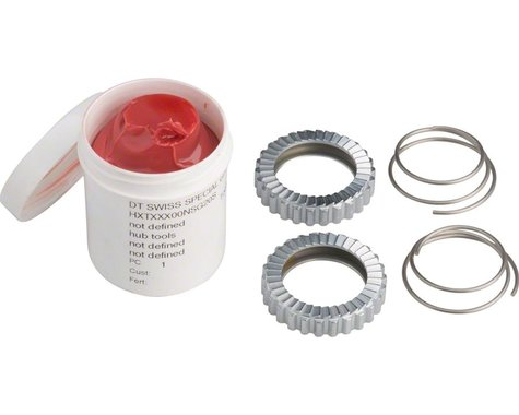 DT Swiss 36T Star Ratchet Kit (2 Star Ratchets, 2 Springs, & Grease)