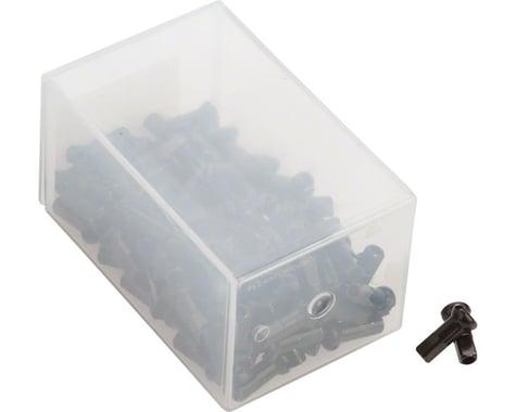DT Swiss Pro Head Brass Nipples (Black) (2.0 x 12mm) (Box of 100)