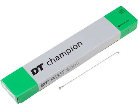 DT Swiss Champion J-bend Spoke (Silver) (2.0mm) (294mm)