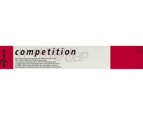 DT Swiss Competition J-bend Spoke (Silver) (2.0/1.8/2.0mm) (256mm)