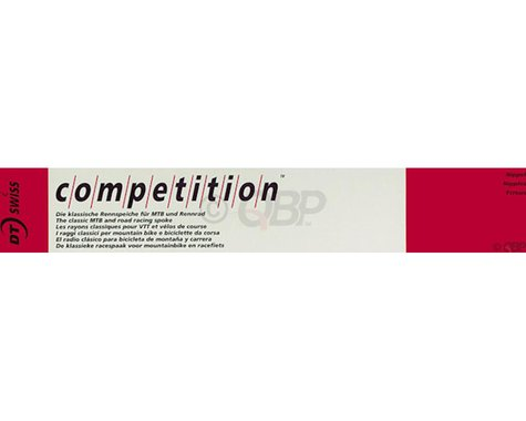 DT Swiss Competition J-bend Spoke (Silver) (2.0/1.8/2.0mm) (300mm)