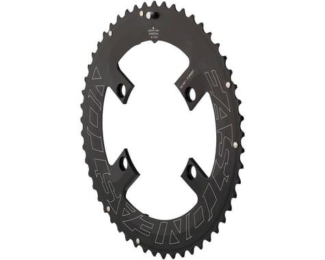 Easton Asyemetric 4-Bolt Outer Chainring (Black) (110mm BCD)